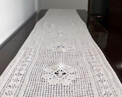 Caminho de mesa de croch�