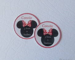 20 Lacre Envelope Minnie - 3,5 cm