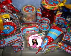 Kit festa Completo da Galinha Pintadinha