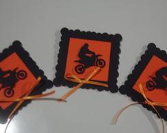 Capa para Pirulito tema Motocross
