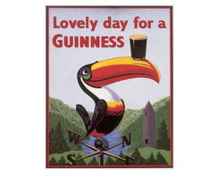 Placa MDF Retr�- For A Guinness - 566