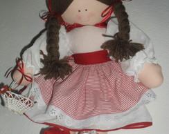 Boneca chap�uzinho 55cm