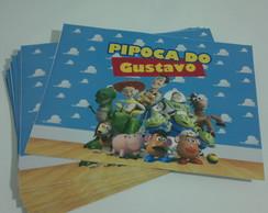 Adesivo Balde De Pipoca - Toy Story