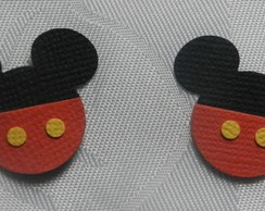 Aplique Mickey com Shortinho