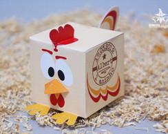 Caixas Galinho Personalizada para doces