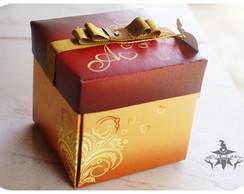 Convite Casamento Caixa Gold