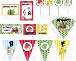 """Kit festa """"Angry Birds"""""""