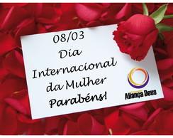 Folder Dia Internacional da Mulher