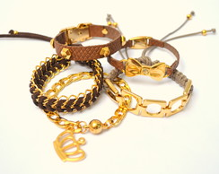 MIX DE PULSEIRAS IT GIRL