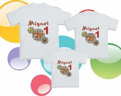 Camiseta Anivers�rio Fazendinha