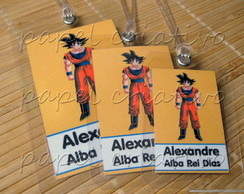 Kit 3 Bagtags - Dragon Ball