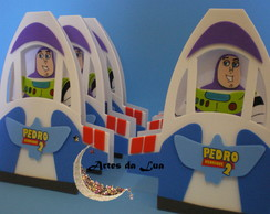 Convite Toy Story ( Nave Buzz Lightyear)