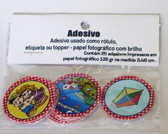 Festa Junina 25 Topper Adesivo
