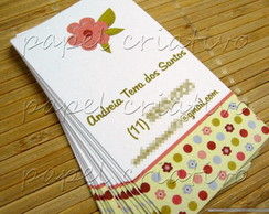 Calling Cards - flower