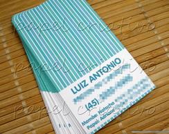 Calling Cards Kids- Blue Stripes