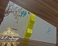 Convite de Casamento - Amor ♥ � Vida