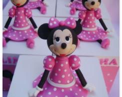 Minnie Rosa - caixa MDF