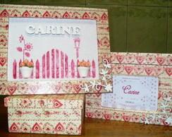 Kit Decora��o Quarto Baby Carine