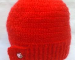 Touca Vermelha Super leve - L� Importada