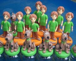 Potes de papinha Scooby e Salsicha