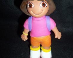 Topo de bolo Dora Aventureira.