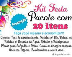 Kit Festa 20 itens