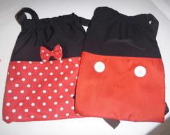 Linda Mochila Mickey Mouse