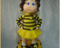 Topo Personalizado Menina abelha