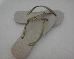 Chinelo customizado P�demais