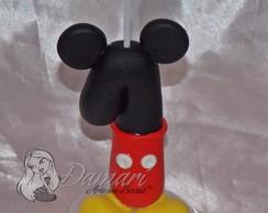 Vela Topo De Bolo Mickey