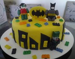 Bolo Pasta Americana Batman lego