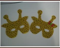 Mascara em e.v.a. de Girafa