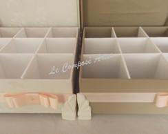 Caixa Para Kit Toillet Com Divis�rias