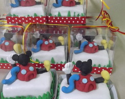 20 Mini Bolo Casinha do Mickey