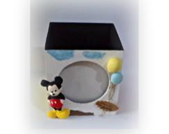 Enfeite De Mesa Porta Retratos Mickey