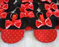 Chaveiro Minnie Mouse