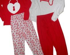 Kit Pijamas m. longa dia dos namorados