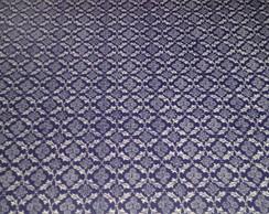 Jogo americano ret madeira mosaico azul