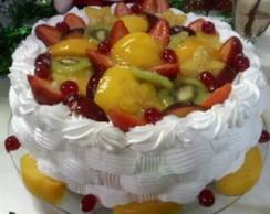 Bolo Cesta de frutas