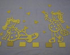Mini Painel Lili's com Borboletas