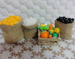 Kit Feirinha Em Miniatura