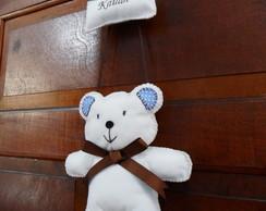 Enfeite de Porta Urso - Menino