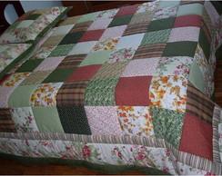 Colcha em patchwork
