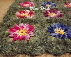 Tapete jardim florido