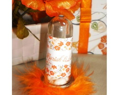 Tubete Personalizado Orange Flowers