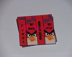 R�tulo Bis Angry Birds