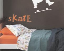 Adesivo Decora��o Parede Skate