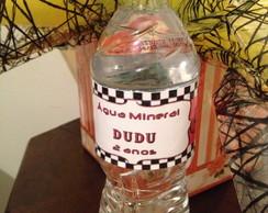 R�tulos para Agua - Carros
