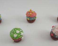 Pingente Cupcake Luxo (Nova Cole��o)