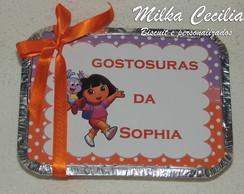Marmitinha personalizada Dora